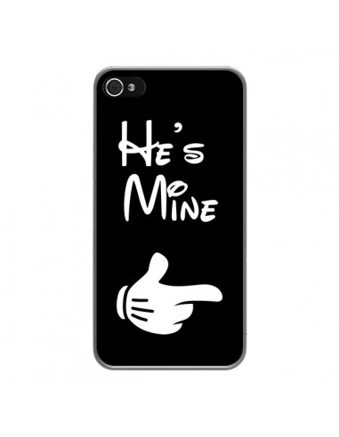 Coque iPhone 4 et 4S He's Mine Il est à Moi Amour Amoureux - Laetitia