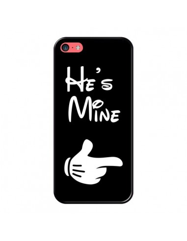 Coque iPhone 5C He's Mine Il est à Moi Amour Amoureux - Laetitia