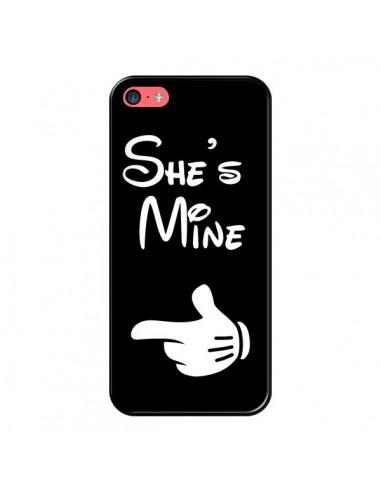 Coque She's Mine Elle est à Moi Amour Amoureux pour iPhone 5C - Laetitia
