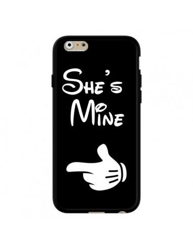 Coque She's Mine Elle est à Moi Amour Amoureux pour iPhone 6 et 6S - Laetitia