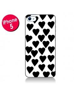 Coque Coeur Noir pour iPhone 5