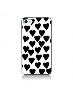 Coque Coeur Noir pour iPhone 4 et 4S