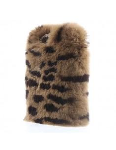 """Coque en Fourrure Leopard Ultra Douce pour iPhone 6 et 6S (4,7"""")"""