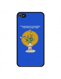 Coque iPhone 4 et 4S L'argent ne pousse pas dans les plantes - Leellouebrigitte