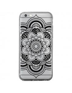 Coque Mandala Noir Azteque Transparente pour iPhone 6 Plus et 6S Plus - Nico