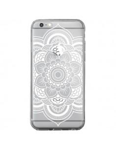 Coque Mandala Blanc Azteque Transparente pour iPhone 6 Plus et 6S Plus - Nico