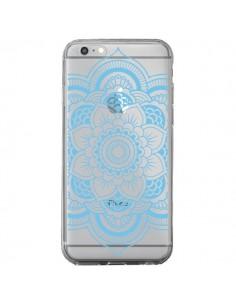 Coque Mandala Bleu Azteque Transparente pour iPhone 6 Plus et 6S Plus - Nico
