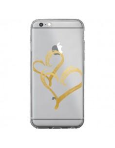 Coque Deux Coeurs Love Amour Transparente pour iPhone 6 Plus et 6S Plus - Sylvia Cook