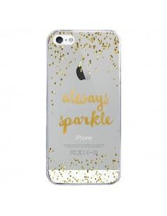 Coque iPhone 5/5S et SE Always Sparkle, Brille Toujours Transparente - Sylvia Cook