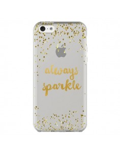 Coque Always Sparkle, Brille Toujours Transparente pour iPhone 5C - Sylvia Cook