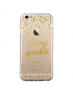 Coque Always Sparkle, Brille Toujours Transparente pour iPhone 6 et 6S - Sylvia Cook