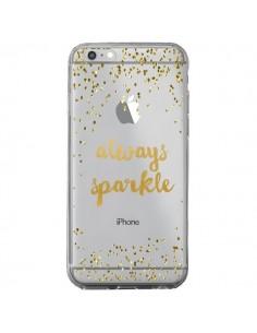 Coque Always Sparkle, Brille Toujours Transparente pour iPhone 6 Plus et 6S Plus - Sylvia Cook