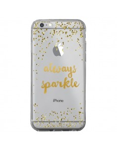 Coque iPhone 6 Plus et 6S Plus Always Sparkle, Brille Toujours Transparente - Sylvia Cook