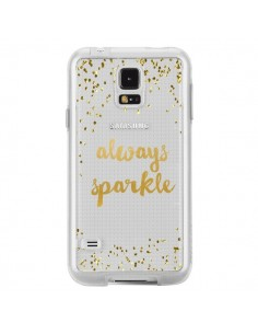 Coque Always Sparkle, Brille Toujours Transparente pour Samsung Galaxy S5 - Sylvia Cook