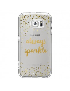 Coque Always Sparkle, Brille Toujours Transparente pour Samsung Galaxy S6 - Sylvia Cook
