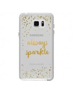 Coque Always Sparkle, Brille Toujours Transparente pour Samsung Galaxy Note 5 - Sylvia Cook