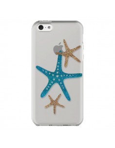 Coque iPhone 5C Etoile de Mer Starfish Transparente - Sylvia Cook