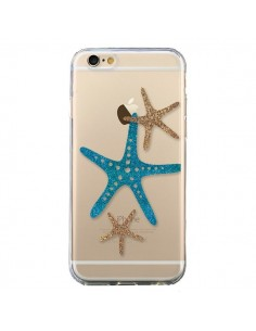 Coque iPhone 6 et 6S Etoile de Mer Starfish Transparente - Sylvia Cook
