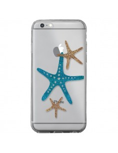 Coque iPhone 6 Plus et 6S Plus Etoile de Mer Starfish Transparente - Sylvia Cook