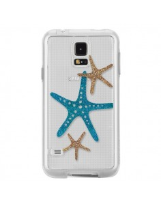 Coque Etoile de Mer Starfish Transparente pour Samsung Galaxy S5 - Sylvia Cook