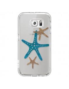 Coque Etoile de Mer Starfish Transparente pour Samsung Galaxy S6 - Sylvia Cook