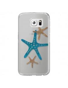 Coque Etoile de Mer Starfish Transparente pour Samsung Galaxy S6 Edge - Sylvia Cook