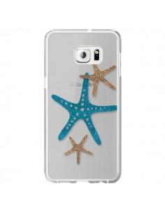 Coque Etoile de Mer Starfish Transparente pour Samsung Galaxy S6 Edge Plus - Sylvia Cook