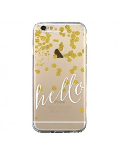 Coque iPhone 6 et 6S Hello, Bonjour Transparente - Sylvia Cook