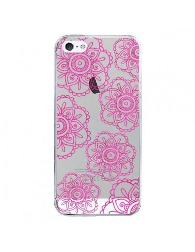 coque avec une rose fleur iphone 5