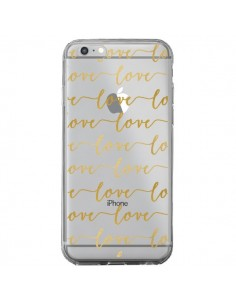 Coque Love Amour Repeating Transparente pour iPhone 6 Plus et 6S Plus - Sylvia Cook