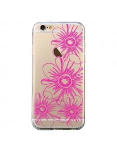 Coque iPhone 6 et 6S Spring Flower Fleurs Roses Transparente - Sylvia Cook