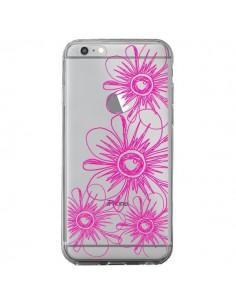 Coque iPhone 6 Plus et 6S Plus Spring Flower Fleurs Roses Transparente - Sylvia Cook