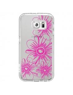 Coque Spring Flower Fleurs Roses Transparente pour Samsung Galaxy S6 - Sylvia Cook
