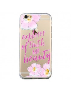 Coque Explorer of Truth and Beauty Transparente pour iPhone 6 et 6S - Sylvia Cook
