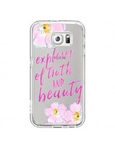 Coque Explorer of Truth and Beauty Transparente pour Samsung Galaxy S6 - Sylvia Cook