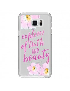 Coque Explorer of Truth and Beauty Transparente pour Samsung Galaxy Note 5 - Sylvia Cook