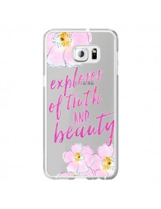 Coque Explorer of Truth and Beauty Transparente pour Samsung Galaxy S6 Edge Plus - Sylvia Cook