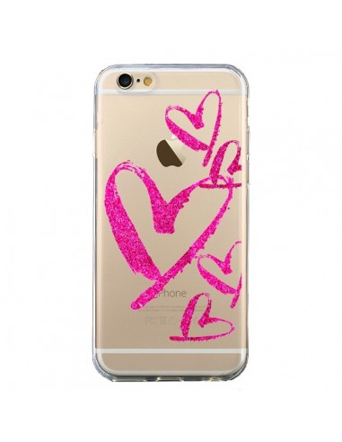 coque rose coeur iphone 7