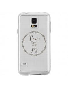 Coque Peace and Joy, Paix et Joie Transparente pour Samsung Galaxy S5 - Sylvia Cook