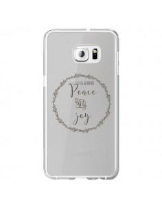 Coque Peace and Joy, Paix et Joie Transparente pour Samsung Galaxy S6 Edge Plus - Sylvia Cook