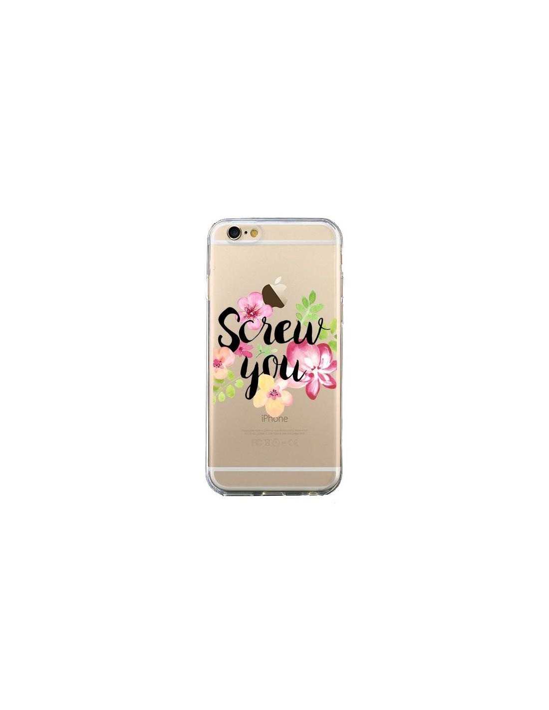 coque iphone 6 avec des fleurs