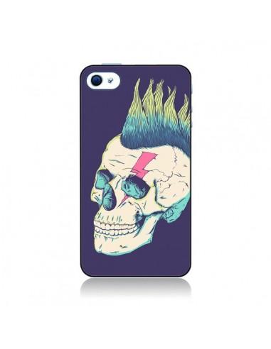 Coque Tête de mort Punk pour iPhone 4 et 4S