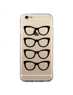 Coque iPhone 6 et 6S Sunglasses Lunettes Soleil Noir Transparente - Project M