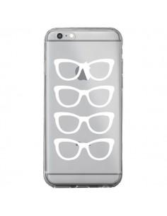 Coque iPhone 6 Plus et 6S Plus Sunglasses Lunettes Soleil Blanc Transparente - Project M