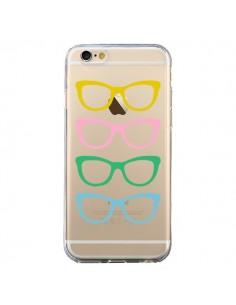 Coque Sunglasses Lunettes Soleil Couleur Transparente pour iPhone 6 et 6S - Project M