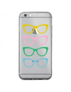 Coque iPhone 6 Plus et 6S Plus Sunglasses Lunettes Soleil Couleur Transparente - Project M