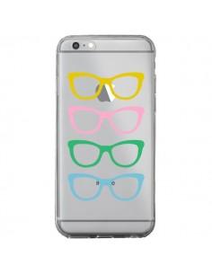 Coque Sunglasses Lunettes Soleil Couleur Transparente pour iPhone 6 Plus et 6S Plus - Project M