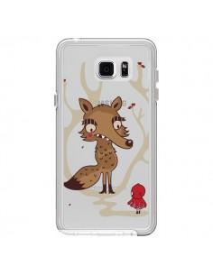 Coque Le Petit Chaperon Rouge Loup Hello Big Wolf Transparente pour Samsung Galaxy Note 5 - Maria Jose Da Luz