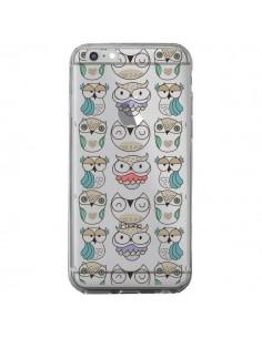 Coque iPhone 6 Plus et 6S Plus Chouettes Owl Hibou Transparente - Maria Jose Da Luz