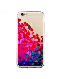 Coque iPhone 6 et 6S Creation in Color Pink Rose Transparente - Ebi Emporium